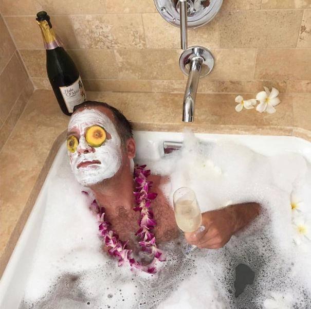 В мечтах о Гавайях гламурное кисо, фото, юмор