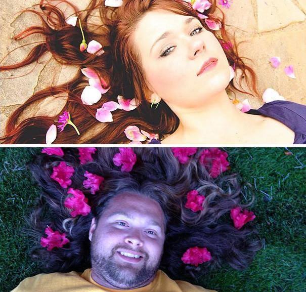 Цветочное настроение гламурное кисо, фото, юмор